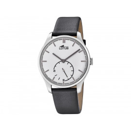 Men's Lotus Classic Retro Watch 18357/1 Gray Leather