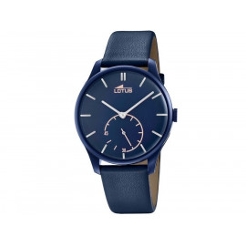 Men's Lotus Classic Retro Watch 18359/1 Blue Leather