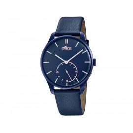 Orologio Uomo Lotus  Classica Retro 18359/1 Pelle Blu