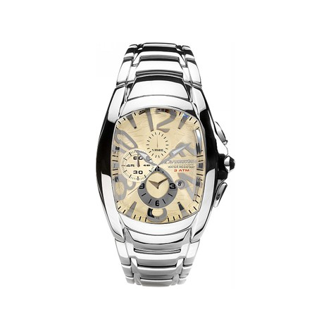 Orologio Uomo CHR CT.7024M/49M Cronografo Cassa e Cinturino in Acciaio