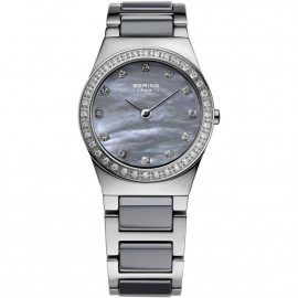 WATCH BERING WATCH SILVER STAINLESS STEEL AND CERAMIC 32426-789