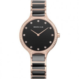 WATCH BERING WATCH CERAMIC STEEL AND SWAROSKI 30434-746