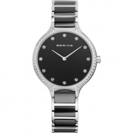 WATCH BERING WATCH CERAMIC STEEL AND SWAROSKI 30434-742
