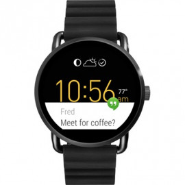 Fossil Steel Watch Q Wander Touchscreen Smartwatch Ftw2103