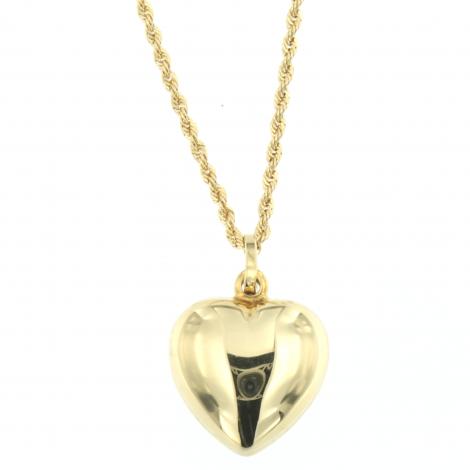 collana cuore oro