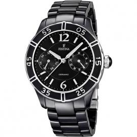 Men's Watch FESTINA F16622 / 2 stainless steel case in ceramic bracelet