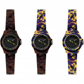 Orologio Solo Tempo UNISEX Kamawatch PRINT KWP03
