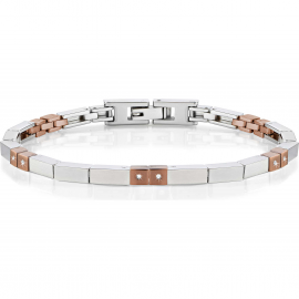 Men's Bracelet MORELLATO SAEV21 Steel and Crystals