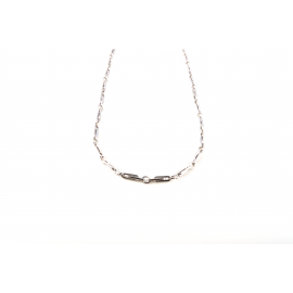 Collana Oro Bianco 18 kt da Uomo  V2854