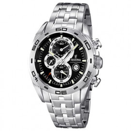 Men's Chronograph Watch Man Festina Cint. And steel case F16488 / 5
