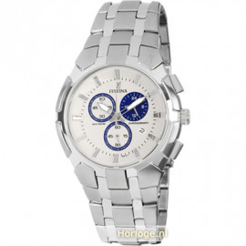 Festina Watch Men's Sport cint. Steel and white dial F6812 / 1
