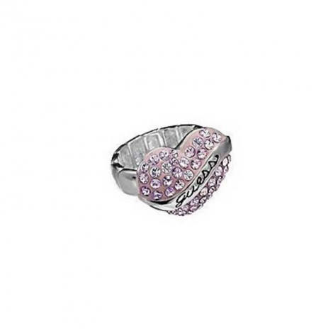 Anello Donna GUESS JEWELS UBR12012-L Maglie flessibili in metallo