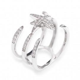 anello donna gioielli Amen Croce Del Sud misura 12 casual cod. ACDS-12