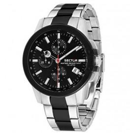orologio cronografo uomo Sector 480 casual cin. in acciaio R3273797002
