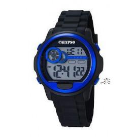 Calypso Orologio Unisex, digitale e cinturino in plastica nero, K5667