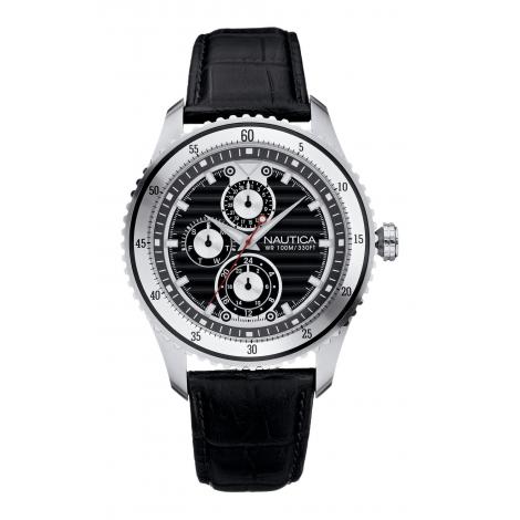 Orologio Uomo NAUTICA A36510G Cronografo Cinturino Acciaio
