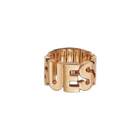 Anello Donna GUESS UBR91305-L Metallo placcato in Rodio