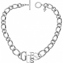 Collana Donna GUESS  Metallo placcato in rodio UBN10902