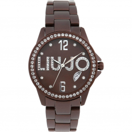 Brown Women's Watch LIU-JO TLJ196 Aluminum Case and Strap