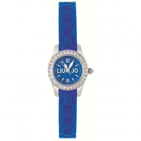 Orologio Donna Blu LIU-JO TLJ202 Cassa in Acciaio Cinturino Silicone
