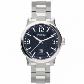 Men's Watch NAUTICA A18596G Steel Case and Strap