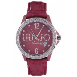 Red Women's Watch LIU-JO TLJ038 CASE FIBREGLASS SKIRT LEATHER