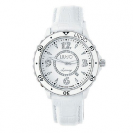 White Woman Watch LIU-JO TLJ018 CASE FIBREGLASS LEATHER BELT