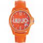 Orologio Donna Arancio LIU-JO TLJ119 CASSA FIBREGLASS CINTURINO PELLE