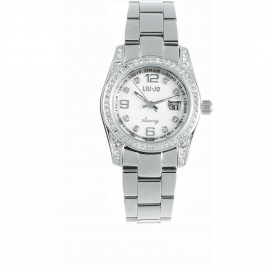 White Woman Watch LIU-JO TLJ139 CASE AND STEEL BELT