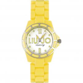 orologio donna giallo LIU-JO TLJ187 cassa e cinturino in policarbonato