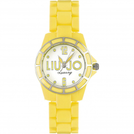 Yellow woman watch LIU-JO TLJ187 polycarbonate case and bracelet