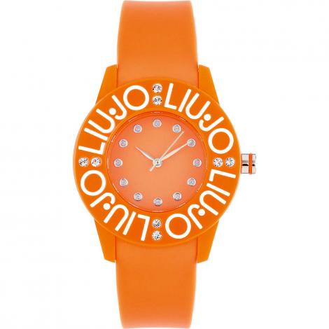 orologio donna arancio LIU-JO TLJ286 cassa e cinturino policarbonato