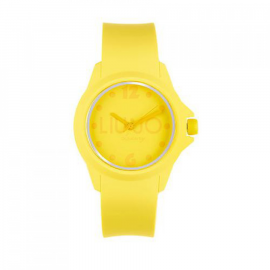 Yellow woman watch LIU-JO TLJ277 polycarbonate case and bracelet