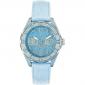 orologio donna azzurro LIU-JO TLJ321 cassa alluminio cinturino pelle