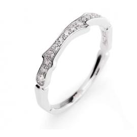 anello donna gioielli Amen Croce misura 10 casual cod. ACORB-10