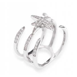 anello donna gioielli Amen Croce Del Sud misura 14 casual cod. ACDS-14