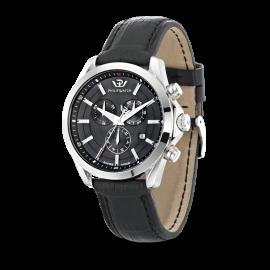 orologio uomo nero PhilipWatch R8271665004 cassa acciaio cint. pelle