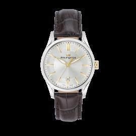orologio uomo bianco PhilipWatch R8251180004 cassa acciaio cint. pelle