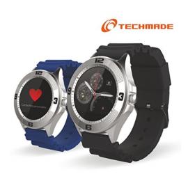 Smartwatch Techmade 1,22IPS cinturino ecopelle