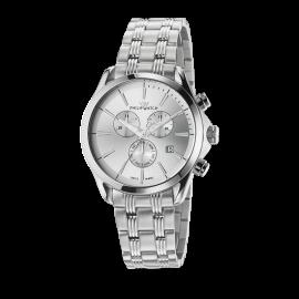 orologio uomo silver PhilipWatch R8273995001 cassa e cinturino acciaio