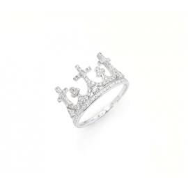 Anello Amen unisex gioielli Corone misura 14 casual cod. AC3-14