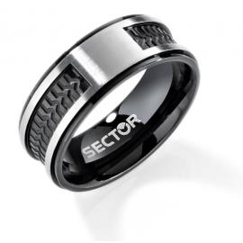 anello uomo gioielli Sector Row misura 19 casual cod. SACX06019