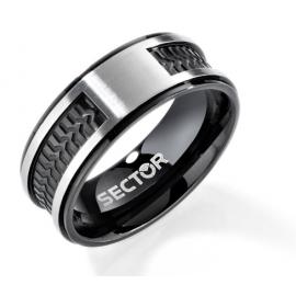 anello uomo gioielli Sector Row misura 23 casual cod. SACX06023