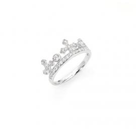 anello donna gioielli Amen Corone misura 18 casual cod. AC1-18