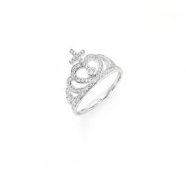 anello donna gioielli Amen Corone misura 18 casual cod. AC2-18