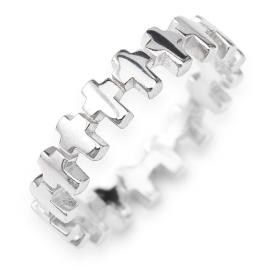 anello donna gioielli Amen Padre Nostro misura 14 trendy cod. RCC-14