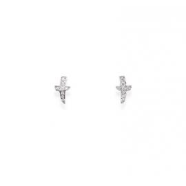Orecchini Amen donna gioielli Croce Del Sud trendy cod. EAC