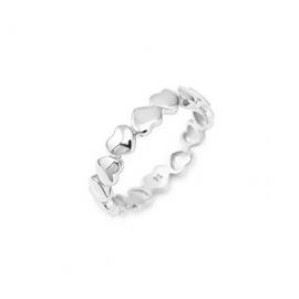 anello donna gioielli Amen Amore misura 12 trendy cod. RHH-12