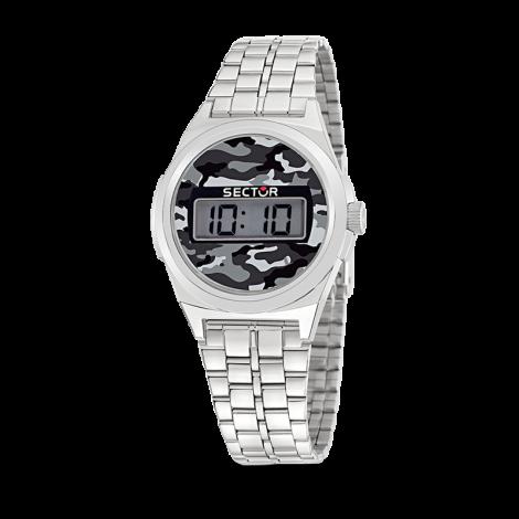 Orologio Uomo SECTOR R3253172002 Digitale  Cassa e Cinturino in Acciaio