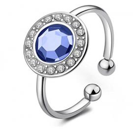 anello donna gioielli Sagapò Luna trendy cod. SLU31